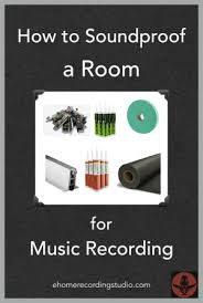How To Soundproof A Room For Music Recording