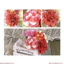 Larger Image MagiDeal DIY Paper Crafts Flowers Wedding Home Office Decor