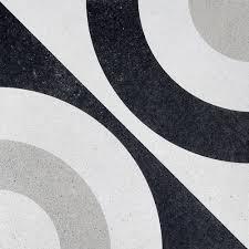 cementine black white arizona tile