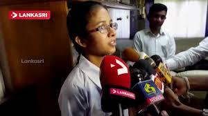 anuki chamathka pasquel of visakha vidyalaya won 1st place in the