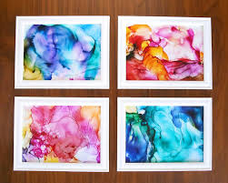 Even The Worst Artist Can Make Beautiful Fired Ink Art With These Easy Creative Things To Do At Home