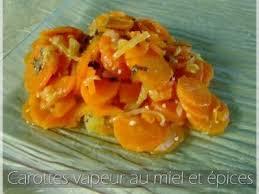 cuisiner les carottes carottes vapeur au miel et épices recette ptitchef