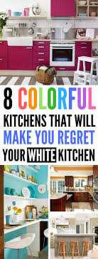 DIY Kitchen Colorful Kitchens Ideas Home Decor
