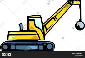 Demolition Truck. Vector & Photo (Free Trial) | Bigstock