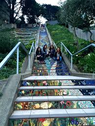 16th Avenue Tiled Steps Project by The Mosiac Stairs Caring For Camille