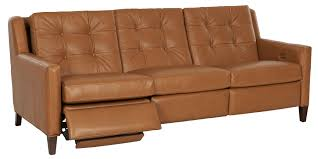 Wall Hugging Reclining Sofa by Leather Furniture