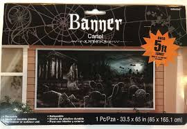 Halloween Scene Setters Uk by Halloween Scene Setters Ebay