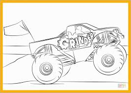 100 Bigfoot Monster Truck History New Coloring Pages Lovely Chevy Printable