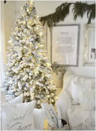 Model Of 7 5 Foot King Flockac Artificial Christmas Tree With 800 Warm White