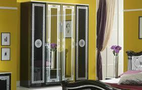 serena klassische schlafzimmer schrank schwarz grau