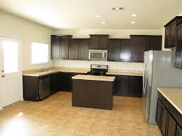 Kitchens With Dark Cabinets And Wood Floors by Kitchen Flooring Ideas With Dark Cabinets Gen4congress Com