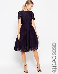 image 1 of asos lace crop top midi pencil dress wishlist