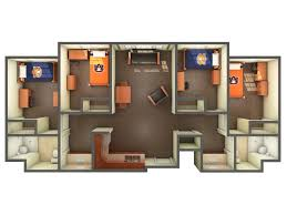 One Bedroom Apartments In Auburn Al by The Village Communities Housing And Residence Life Auburn