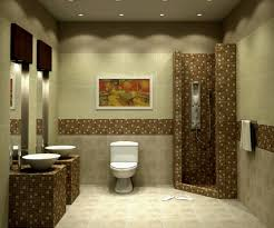 Small Half Bathroom Decor by Bathroom Half Tiled Half Painted Moncler Factory Outlets Com