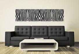 wandaufkleber zebra muster bordüre deko meterware