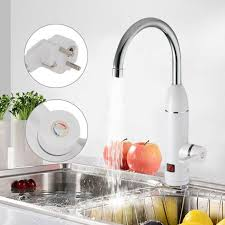 Elektrischer Wasserhahn Durchlauferhitzer 3000w Armatur Elektrische 3000w Wasserhahn Küche Bad Armatur