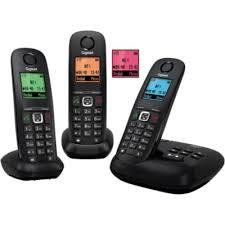 gigaset a540a trio téléphone sans fil boulanger