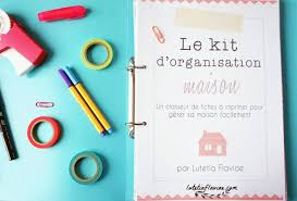 le kit d organisation maison organizations bujo and bullet