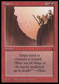 land destruction deck old school magic the gathering