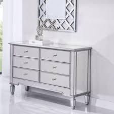 6 Drawer Dresser With Mirror by Glam Dressers You U0027ll Love Wayfair