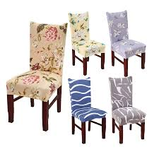 US $4.29 30% OFF|Dining Room Kitchen Office Spandex Stretch Chair Cover  Floral Geometric Pattern Elastic Chair Seat Case Protector Seat Covers-in  ... Seat Covers Ding Room Chairs Large And Beautiful Photos Ding Rooms Set Oak Chairs Wonderful Chair Covers Target How To Make Simple Room Casual Upholstered Peach Pastel Fabric A Kitchen Cover Doityourself 10 Inspired Wedding Amazing Design Table For Small Spaces Modern With Ties 3pcs Car 5 Seats Breathable Linen Pad Mat Auto Cushion Stretch Slipcovers Soft Protectors For