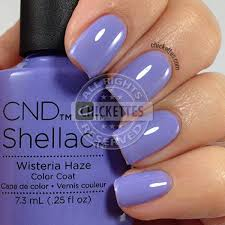 Cnd Shellac Led Lamp Instructions by Cnd Shellac Wisteria Haze Uv Led Polish Free Shipping At Nail