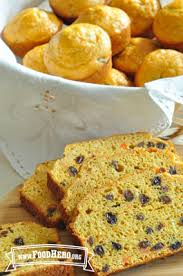 of Sweet Carrot Bread or Muffins