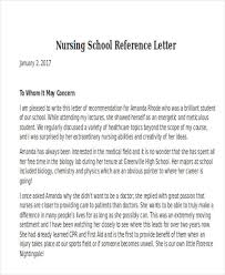 Reference Letter for Nursing Student From Preceptor Erpjewels