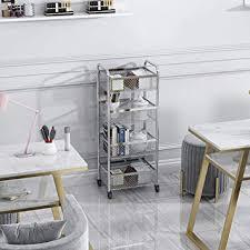 3 4 regal metall und tray bar küche mehrzweckwagen küche