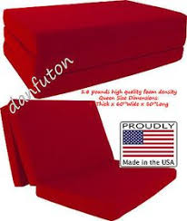 Shikibuton Trifold Foam Beds by Queen Size Royal Trifold Foam Bed Ottoman Foldable Foam Chair