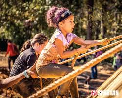 Kids Spartan 1/2 Mile Open Race For Ages 4-6