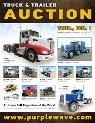 SOLD! February 1 Truck And Trailer Auction | PurpleWave, Inc. Heavy Truck Insurance Auctions Best 2018 Capacity Tj5000 Salvage For Sale Auction Or Lease Jackson Mn Jubilee 1997 Lvo Wg42t Port Jervis Fleet Vehicles Commercial Auto Specialty Salvage Auction 2011 Ford F350 67 Powerstroke No Start Youtube Intertional Lonestar 2010 Kenworth T660 Spencer 2009 2004 T600 Live City Of Regina Unreserved Ended On Vin 1fduf5gtxbec42440 Ford F550 Super In