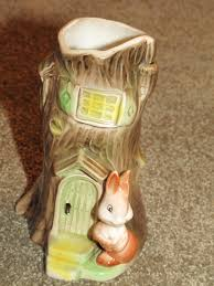 Spode Christmas Tree Cookie Jar Ebay by Vintage Withernsea Eastgate Pottery Fauna Rabbit Tree Planter Vase