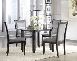 Astounding Attractive Black Dining Room Table And Chairs 5 Be Rv Dinette Furniture