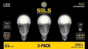 sels led a19 dimmable 60 watt equivalent led light bulb e26