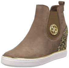 Womens Work And Safety Shoes by Guess Sale Handbags Guess Freda Women U0027s Safety Boots Brown Shoes