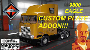 INTERNATIONAL 9800 EAGLE CUSTOM PLATE Mod For American Truck ... Pin Custom Intertional Semi Trucks By Rjah Moody On For Us 1952 Custom Intertional 9300 Log Truck Logging Ho Scale 187 Resin 1959 A110 Cab 12 Ton Pickup Truck 1950s Hot Rod Network 1937 350 Auto Rat Street Built 18wheeler Bad Habit Must See Video Youtube Rims Marvelous 4700 Dually New The 16 Craziest And Coolest Of The 2017 Sema Show 2000 Pl Rescue Used Details
