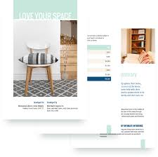 100 Words For Interior Design 7 Sample Proposal Templates Pdf Word Free