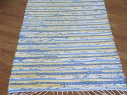 cosy impressive yellow kitchen mat 2 shining handwoven rag rugs
