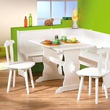 Dining Table Bench And Chairs Corner Furniture Set With 2 Storage