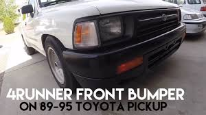 How To Install 4Runner Bumper Onto 89-95 Toyota Pickup And Bumper ... Fab Fours Dr94u1650b Black Steel Elite Rear Bumper Heavyduty Bumpers For Trucks That Work Truck Grill Guards Sales Burnet Tx 2009 2014 F150 Add Lite Front Offroad The Leaders Dodge Storage Bumperdodge Ram 9302 Affordable Selkey Fabricators Sleeper Berth Pickup Elegant 41 Best Chevy Amazoncom Warn 98054 Ascent Toyota Tacoma 2016 Dakota Hills Accsories Gmc Alinum Custom Chevy Bumper Boondock Pinterest 72018 Ford Raptor Stealth Fighter Winch Front Bumper Foutz