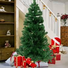Amazoncom Goplus 7FT PreLit Artificial Christmas Tree AutoSpread