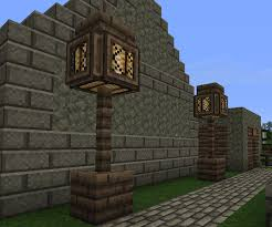 Making Lamps In Minecraft