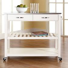 Stainless Steel Kitchen Cart for Small Space — Home Design Blog