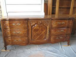 Kent Coffey French Provincial Dresser by Before Brown French Provincial Triple Dresser Eclectic Avenue
