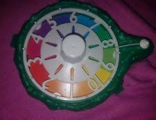 The Game Of Life Family Board Replacement Green Spinner Wheel Works
