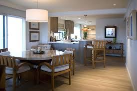 Dining Room Chandelier Drum Shade Wood Inspired In Beach Lighting Fixtures