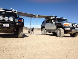 Show Me Your Awnings - Toyota FJ Cruiser Forum Toyota Fj Cruiser Modified Coreys 2007 Built For Expedtionoverland Daily Official Awning Thread 4runner Forum Largest Into The Wild Build Page 3 Expedition Portal Post The Latest Photo Of Your And You Could Win A Free Tshirt Fab Fours 0712 Winch Bumper W No Grille Guard Fj07a17511 Gobi Arb Support Brackets Jeep Wrangler Jk Jku 8 Mount To Suit Oem Rack Bajarack Australia 5 Overland Bound Mileage With Full Eo2 Roof Rack Kit Show Me Awnings 2