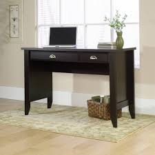 Sauder Edge Water Writing Desk by Furniture Simple Dark Sauder Desks With 2 Drawers And Sisal Rugs