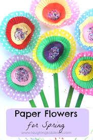 Simple Paper Flower Craft